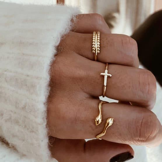 anillos plata de ley