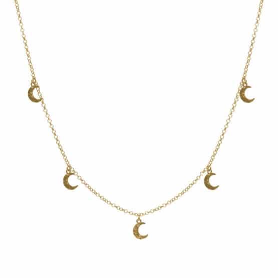 collar chandra oro