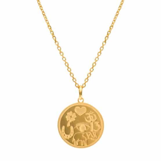 collar lucky oro
