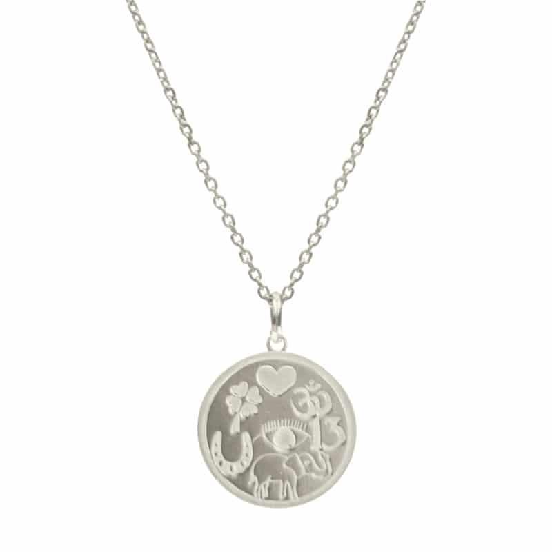 collar lucky plata
