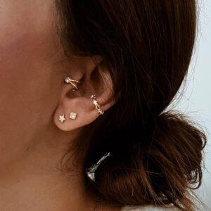 pendientes mini earcuff