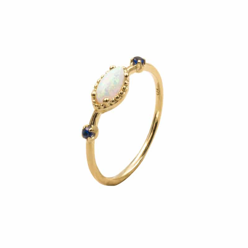 anillo briana oro