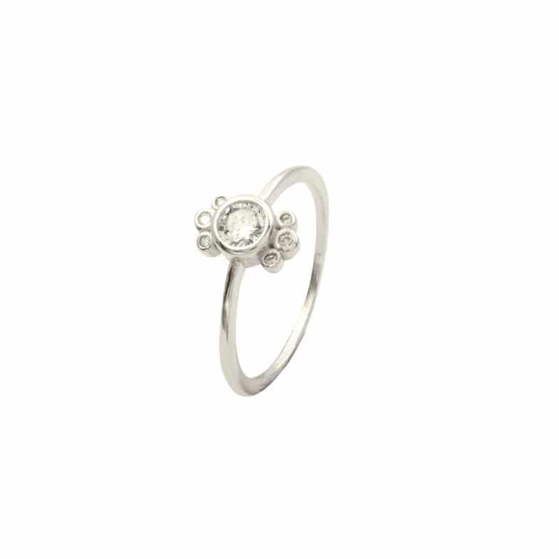 anillo louma plata