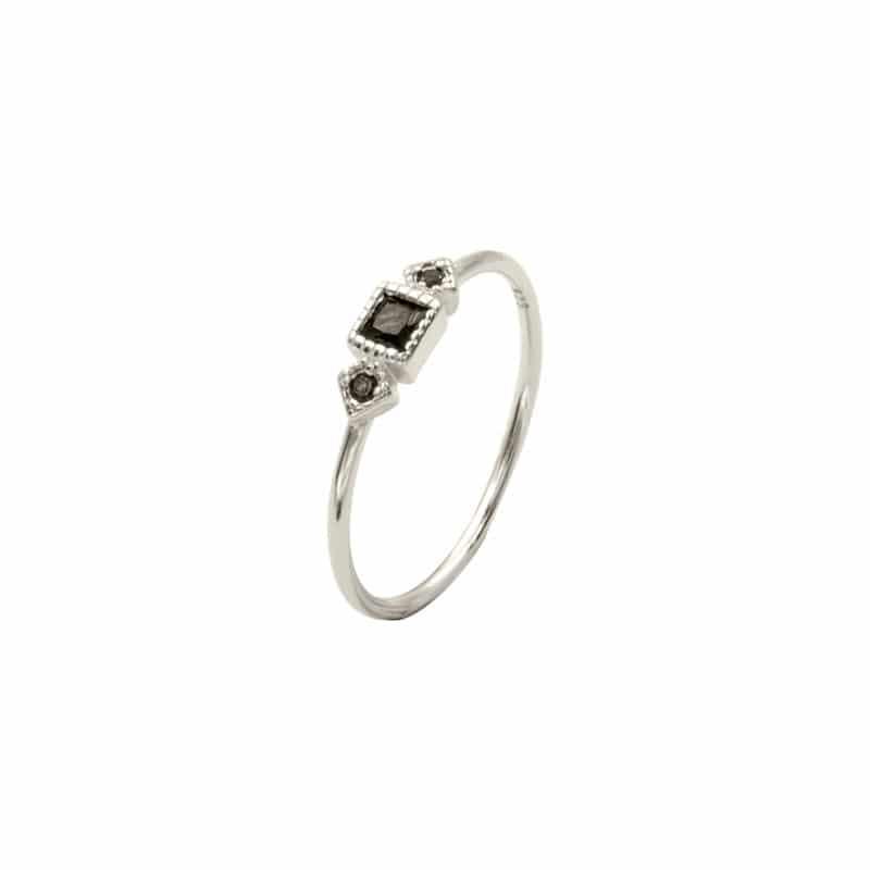 anillo olivia plata