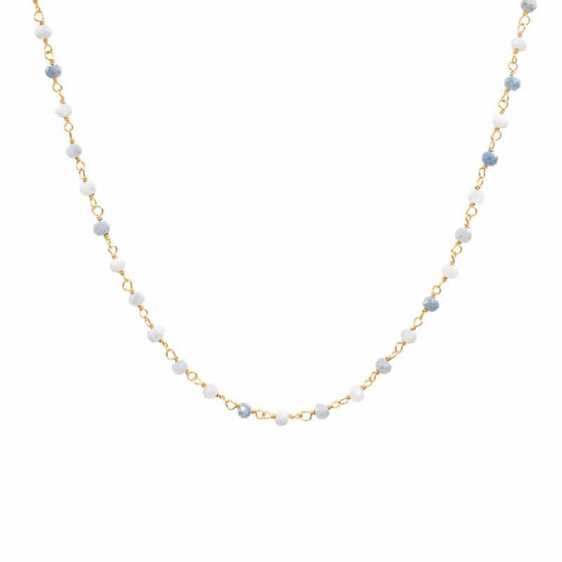 collar bimba opalo oro
