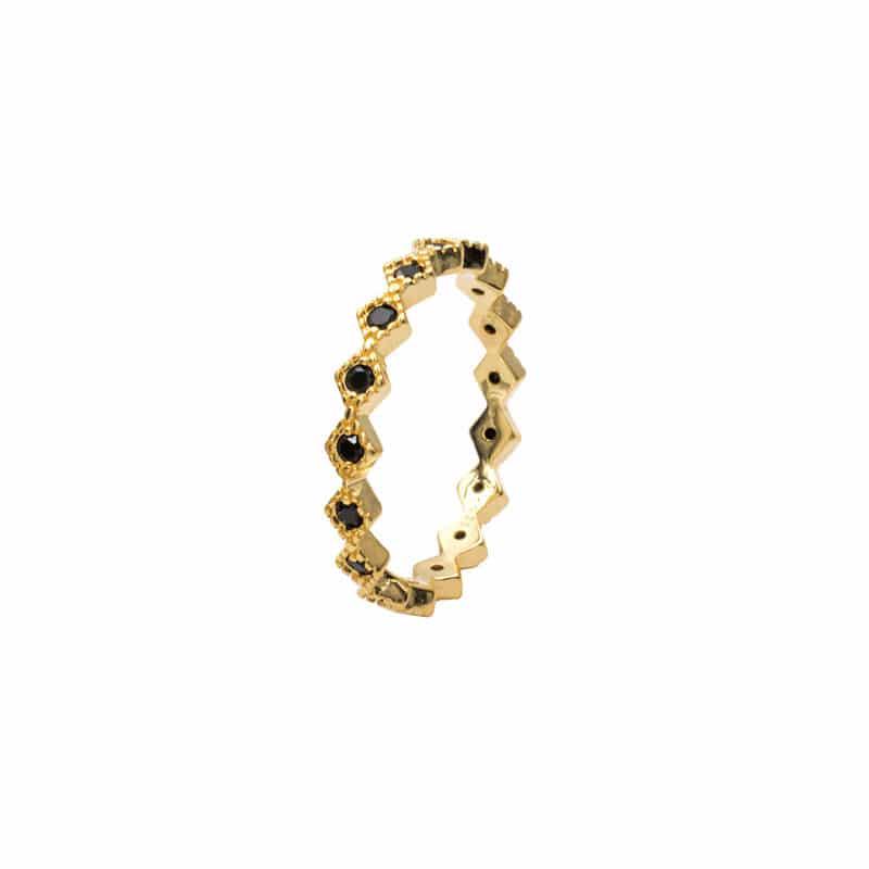 anillo saskia oro