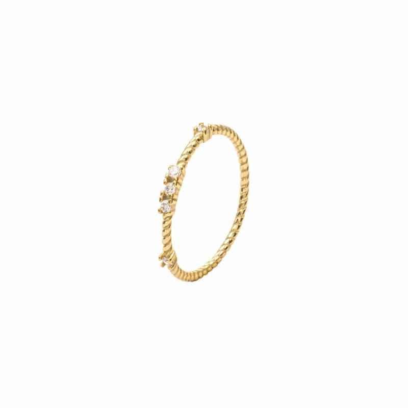 anillo kenza oro