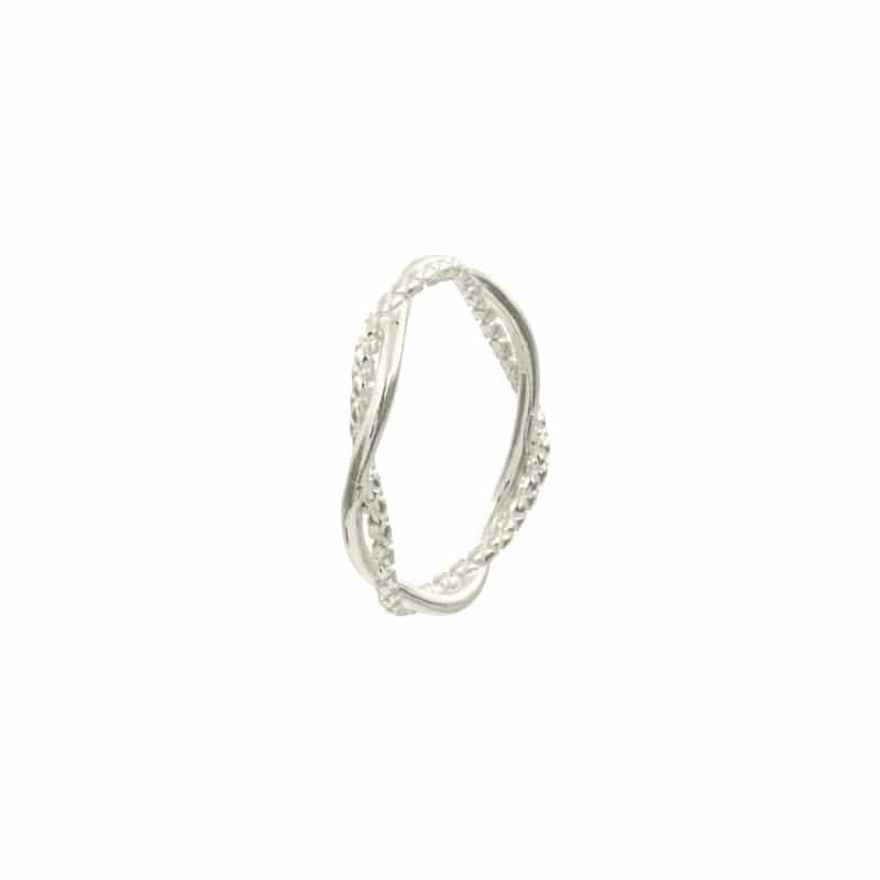 anillo nador plata