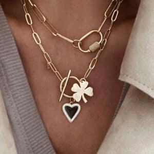collar lucky love negro