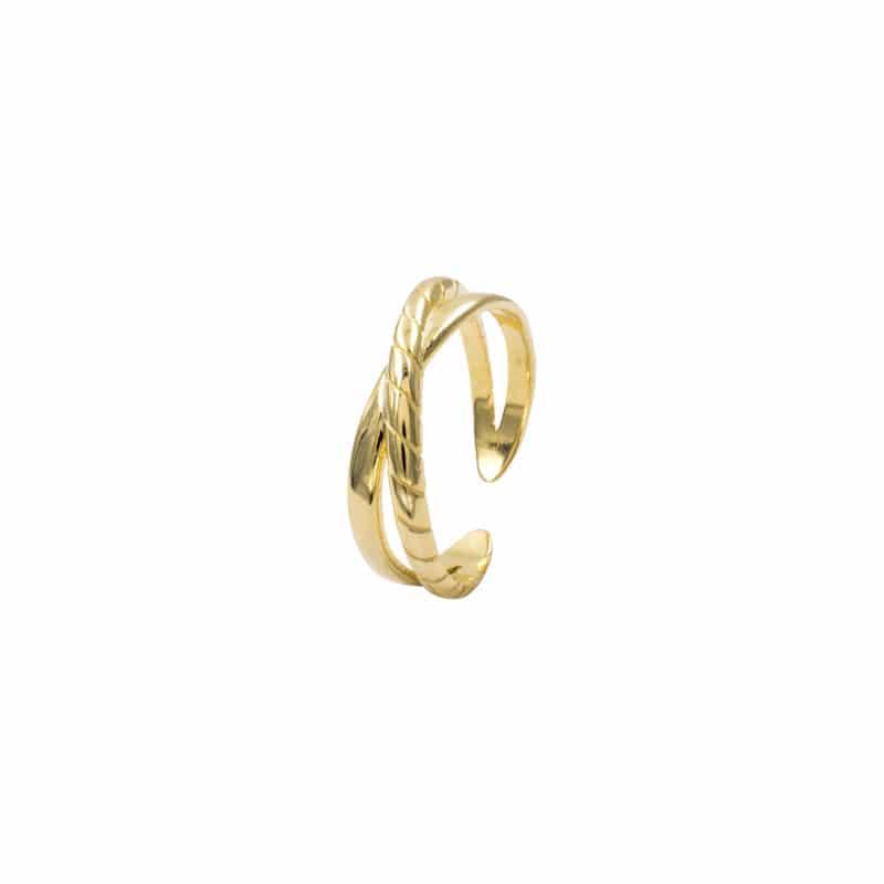 anillo bold oro