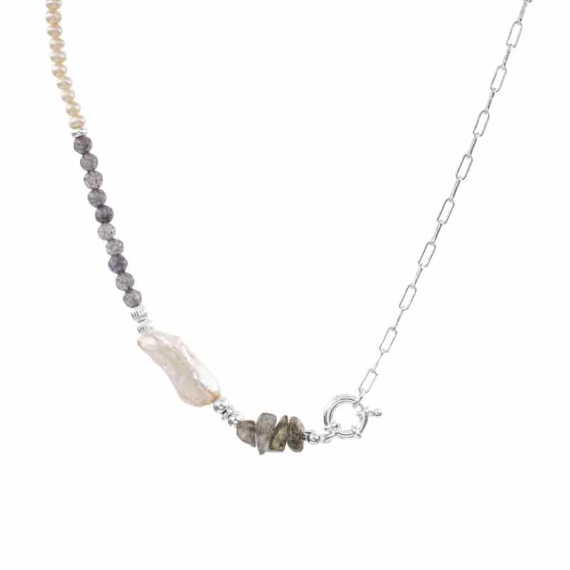 collar eloise plata