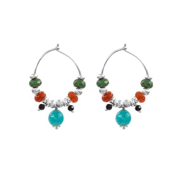 Pendientes-tibaire-aro-piedra-verde-naranja-turquesa-plata-neska-polita2