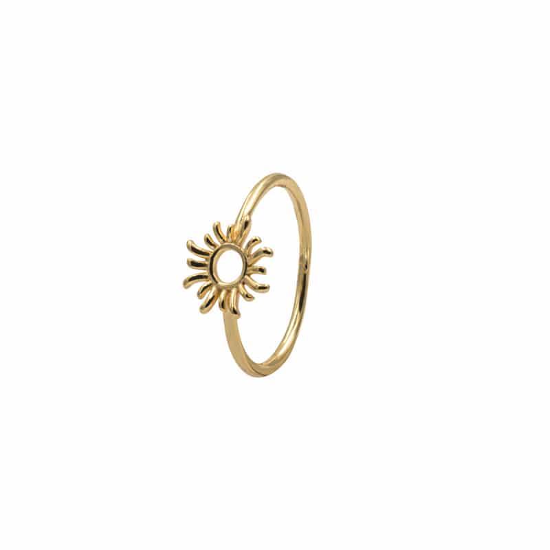 anillo sun oro