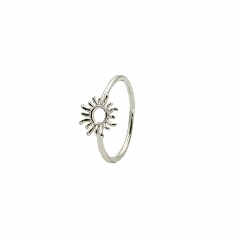 anillo sun plata