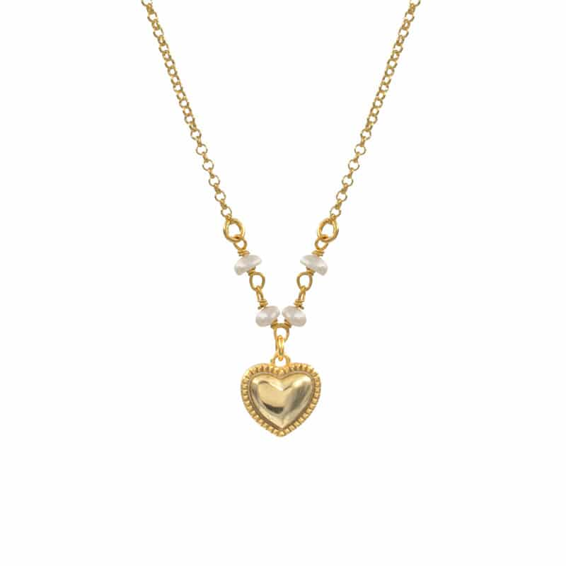 collar sweet heart oro