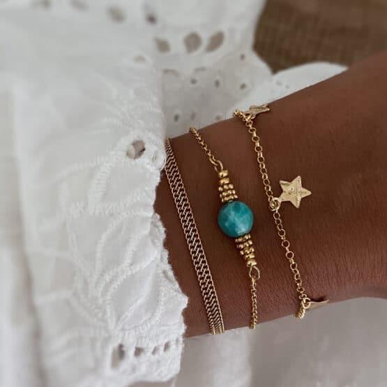 pulseras turquesa estrellas