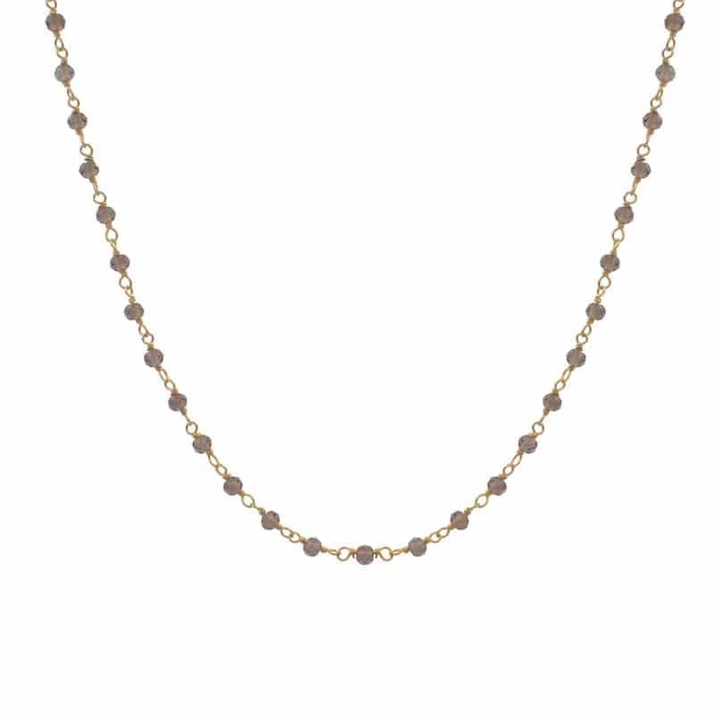 collar bimba cuarzo oro